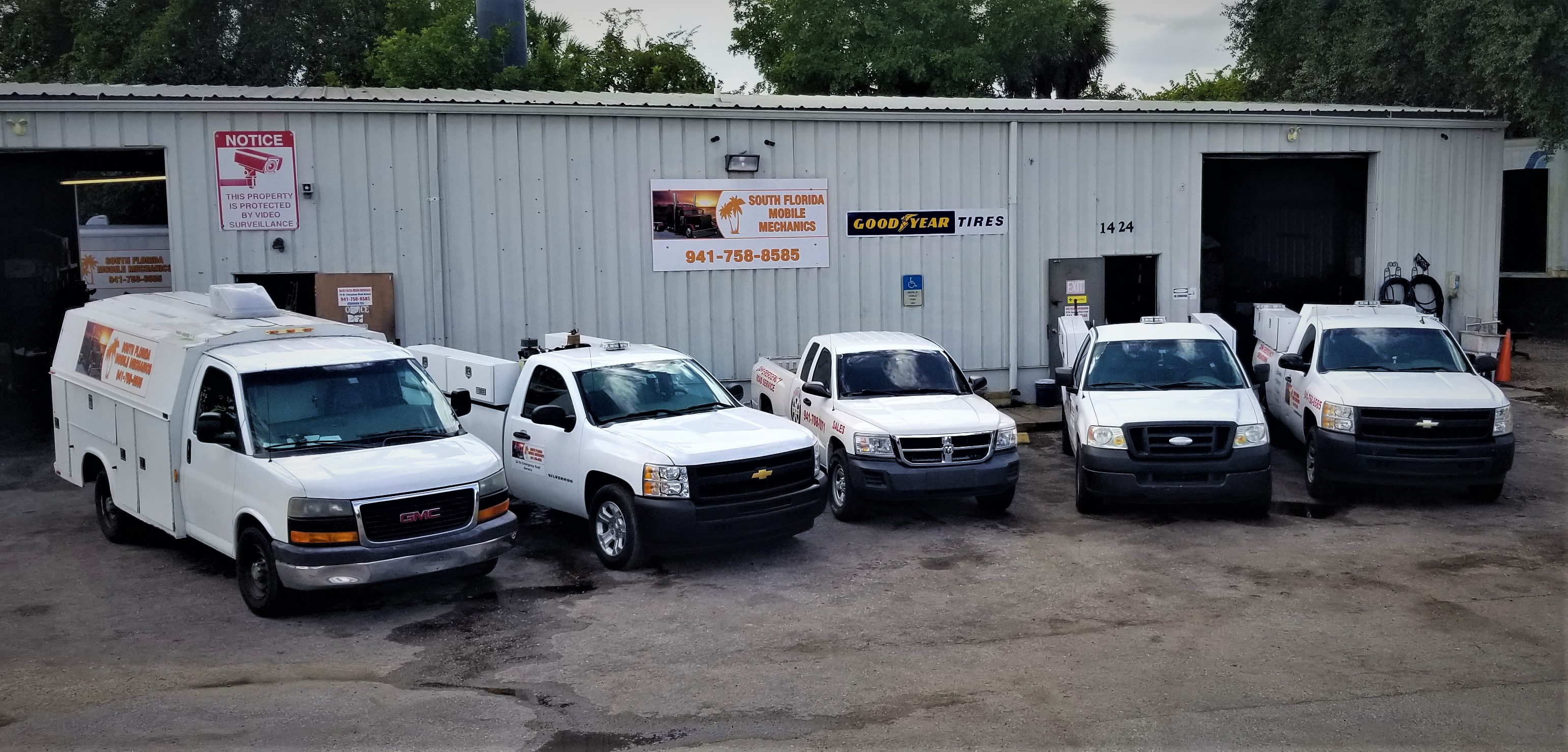 South Florida Mobile Mechanic Fleet